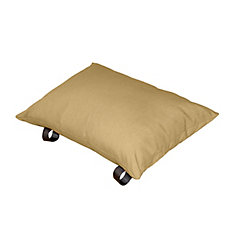 Polyester Pillow in Sand Dune