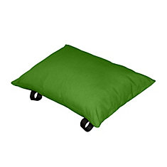 Polyester Pillow in Green Apple