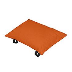 Polyester Pillow in Orange Zest