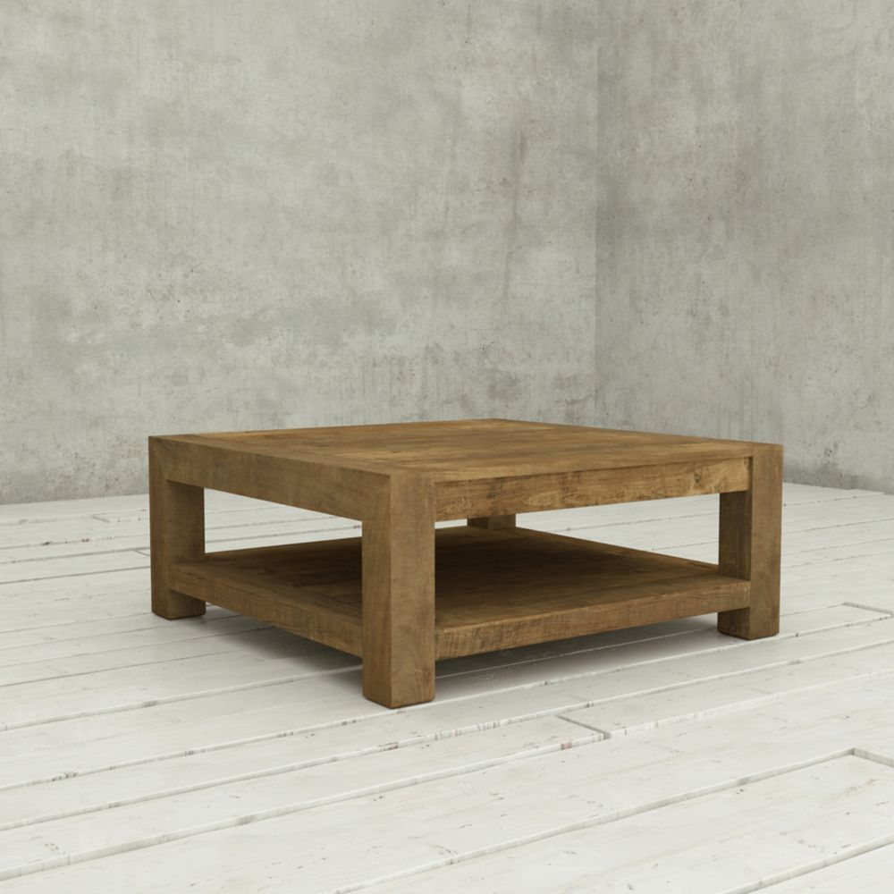 Modern Rustic Coffee Table Canada: !nspire Trenton-Coffee Table-Distressed Pine