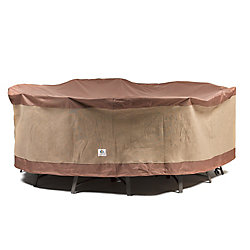 Duck Covers Canard 76 in. ultime couvercles Round Table de Patio avec chaises couvrir