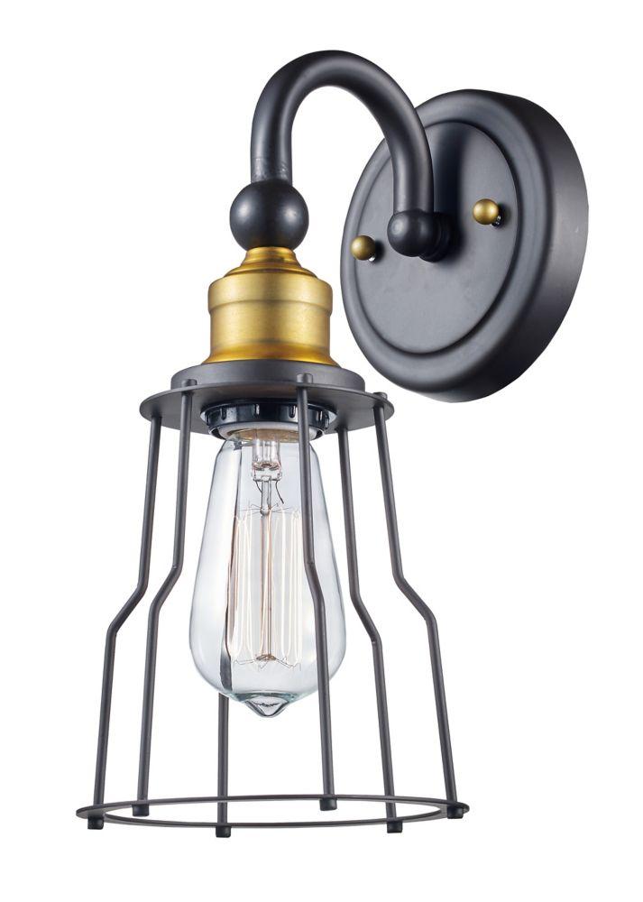 1-Light Oil Rubbed Bronze Vanity Light