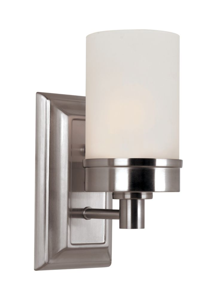 light fans shop nickel roth bathroom pocket pl ceiling wall lowes lighting w allen merington in at brushed sconces sconce com