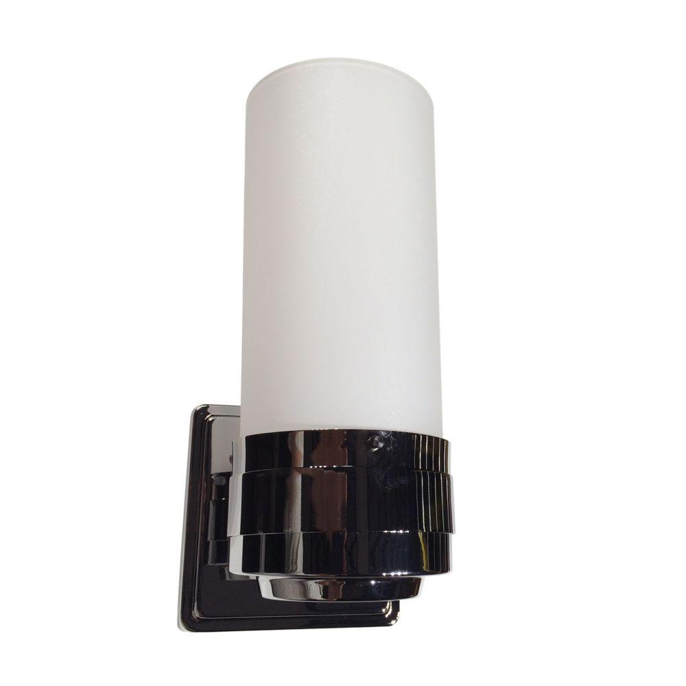 1- Light Polished Chrome Sconce