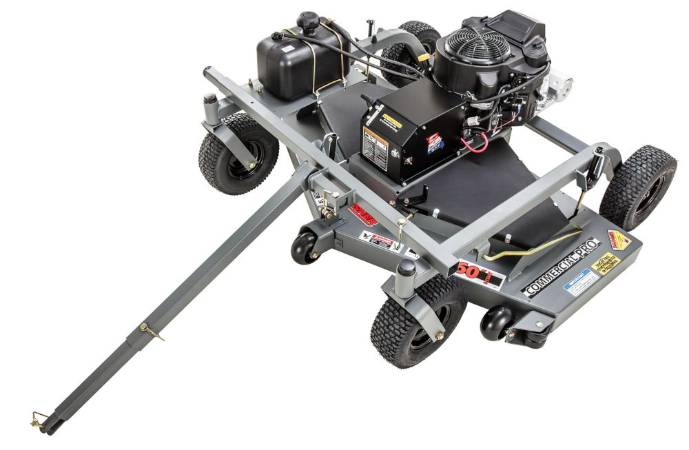 60-inch 14.5 HP Tow Behind Commercial Pro Grass Mower with Kawasaki Power