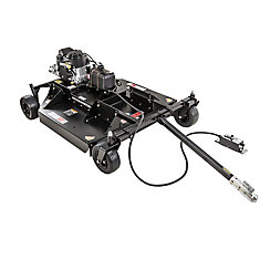 Commercial Pro 53-inch 14.5 HP Tow Behind Trail Cutter (Bush Hog) with Kawasaki Power