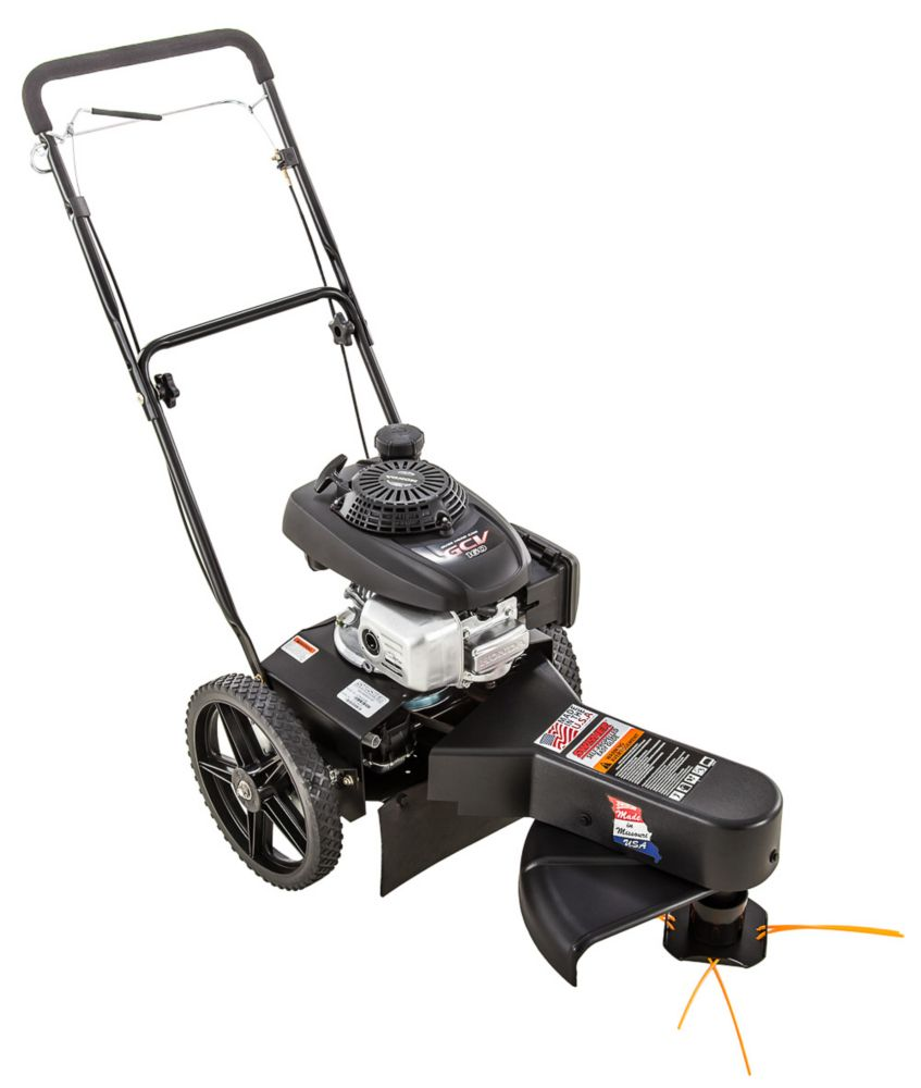 22-inch - 4.4 HP Honda Gas Self-Propelled Walk-Behind String Trimmer
