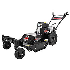 24-inch 11.5 HP Walk Behind Trail Cutter (Bush Hog) with Castors