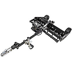 Swisher Commercial Pro 50-inch Grader with Electric Remote Height Adjustment