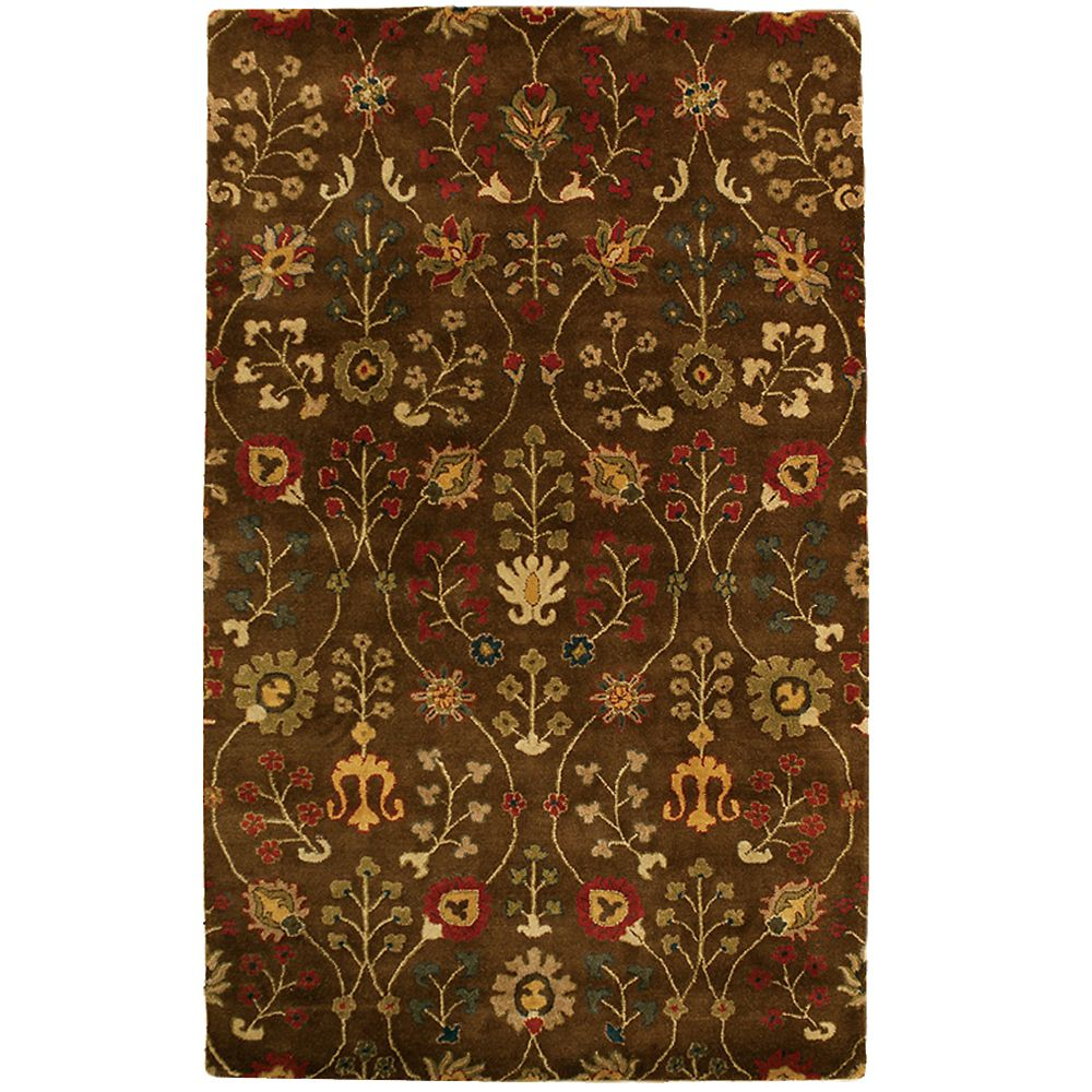Lanart Rug Provencial Autumn Wool 8 ft. x 10 ft. Area Rug