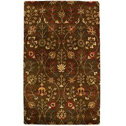 Lanart Rug Provencial Autumn Wool 8 ft. x 10 ft. Area Rug