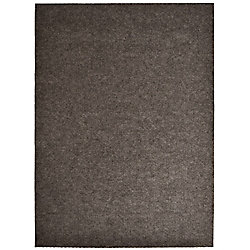 Lanart Rug Impact Popcorn Brown 4 ft. x 82 ft. Runner