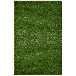 Lanart Rug Grass Shag Green 12 ft. x 36 ft. Rectangular Area Rug
