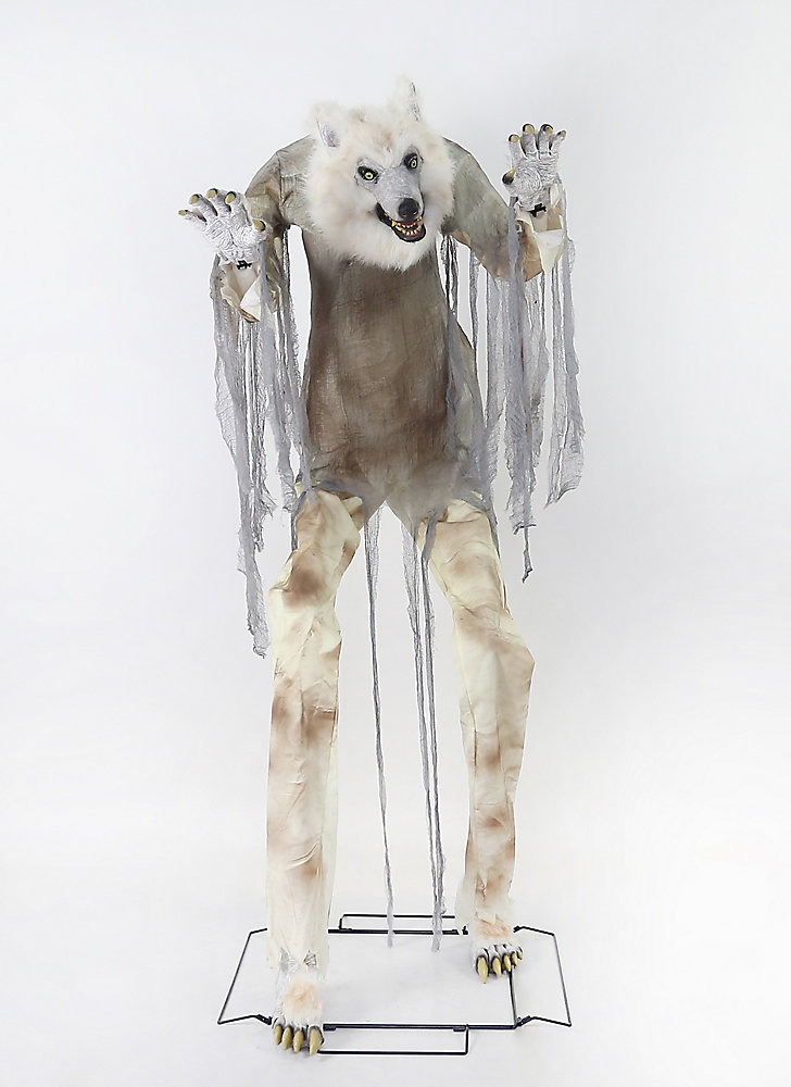 Home Accents Halloween 84 Inch Towering Creepy Werewolf