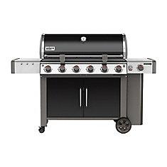 Genesis II LX E-640 6-Burner Propane Gas BBQ in Black