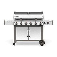 Genesis II LX S-640 ^-Burner Natural Gas BBQ in Stainless Steel