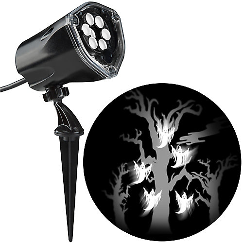 White LED Ghost and Tree Projector