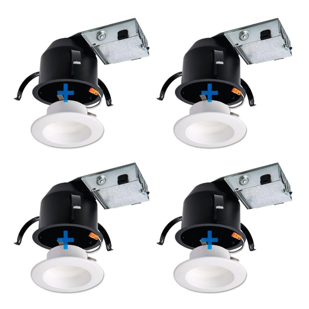 Led Shop Lights Home Depot Canada: Pot Lights: Recessed Lighting & Kits