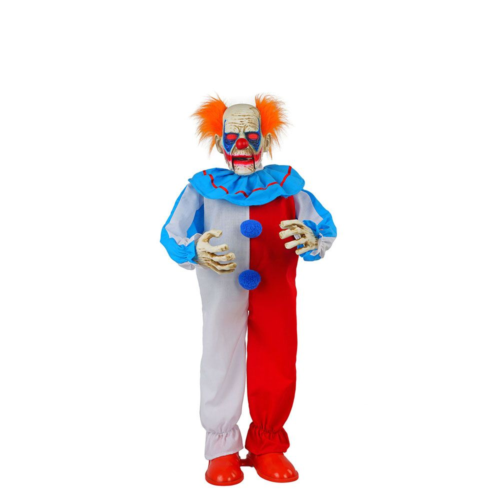 Home Accents Halloween 36-inch Animated Clown with LED Eyes