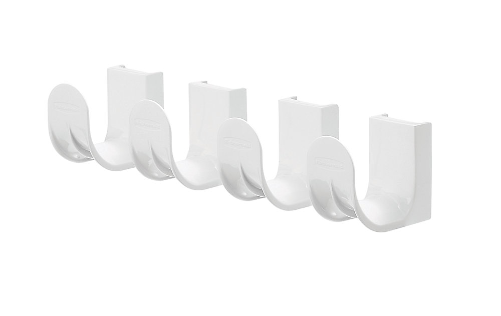 Fast Track Add On Hook (4-Pack) -White