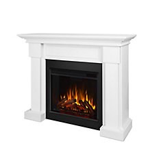 Hilcrest Fireplace in White