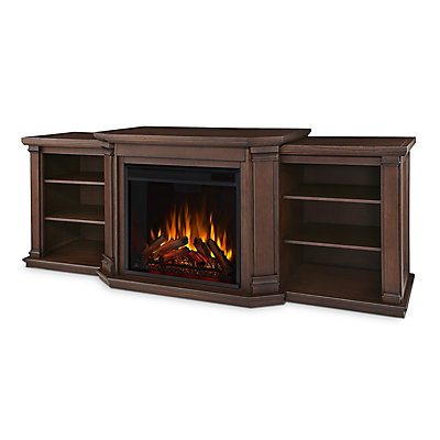 electric ip stand fireplace tv media en real console white flame fresno in with