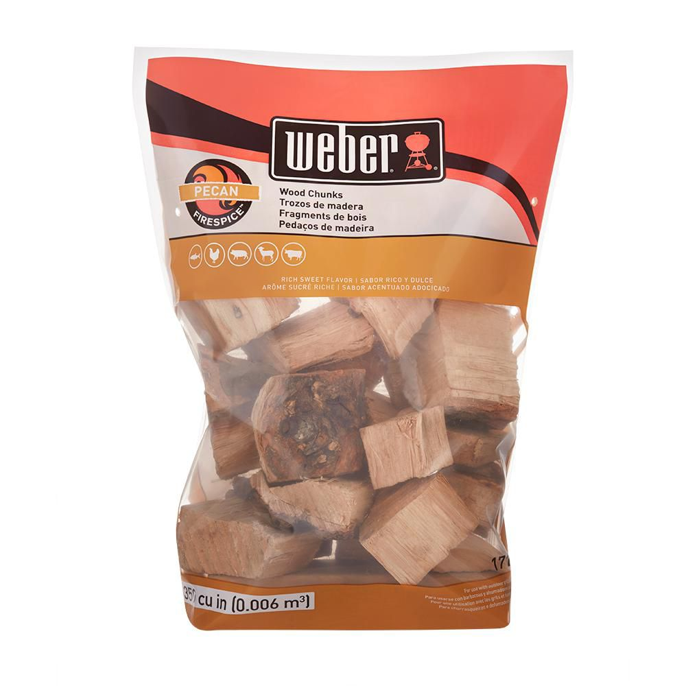 In. Grill and Smoker Black Cherry Wood Chunks 220 Cu