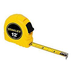 Ruban à mesurer de 12 pi x 1/2 po