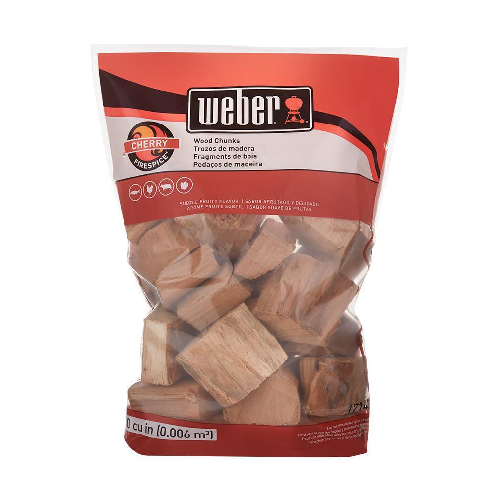 Weber 4 lb. Cherry Wood Chunks