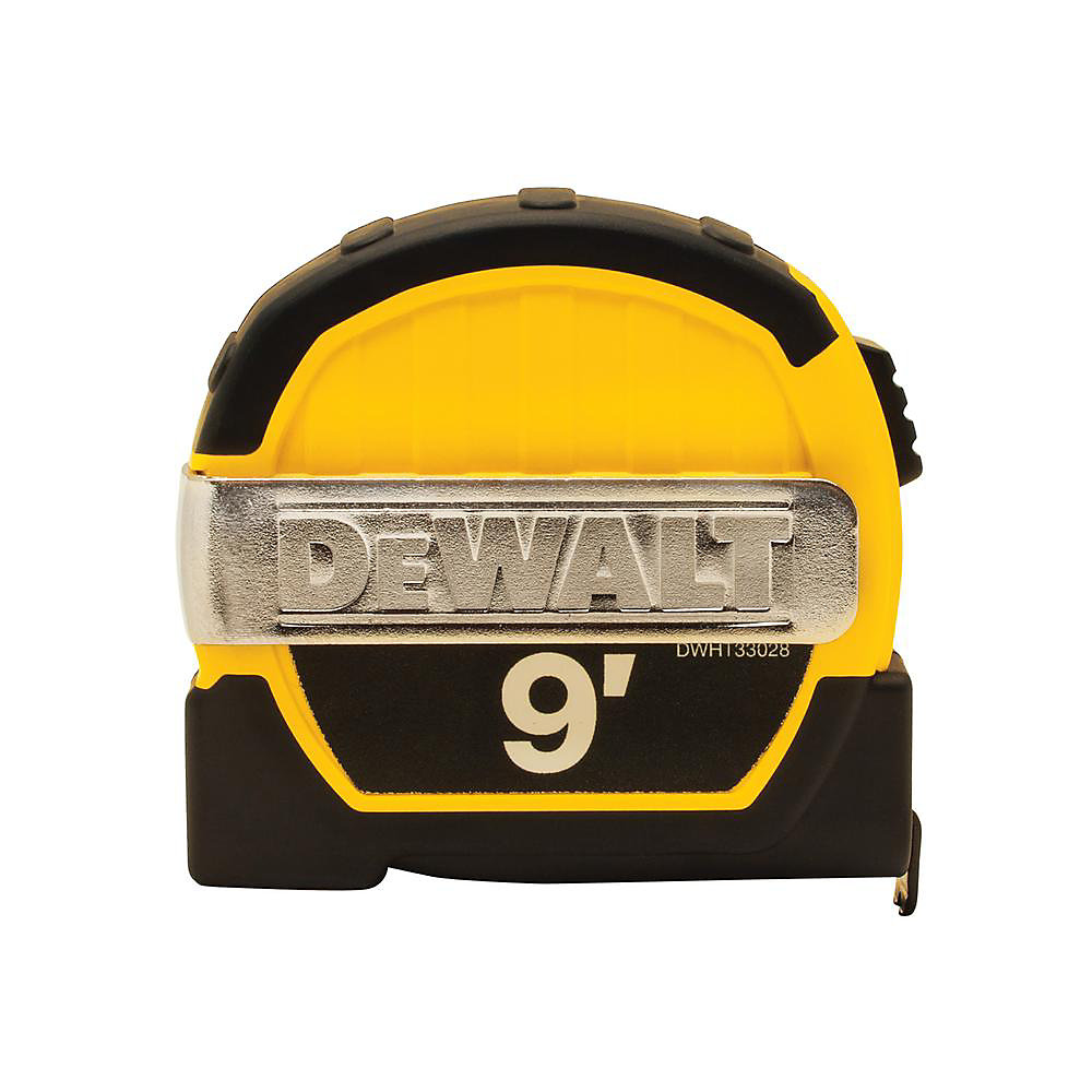9 ft. x 1/2-inch Pocket Tape Measure with Magnetic Back