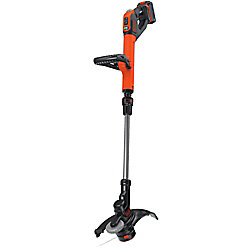 BLACK+DECKER SMARTECH 20V Max Lithium Ion Electric Cordless EASYFEED String Trimmer