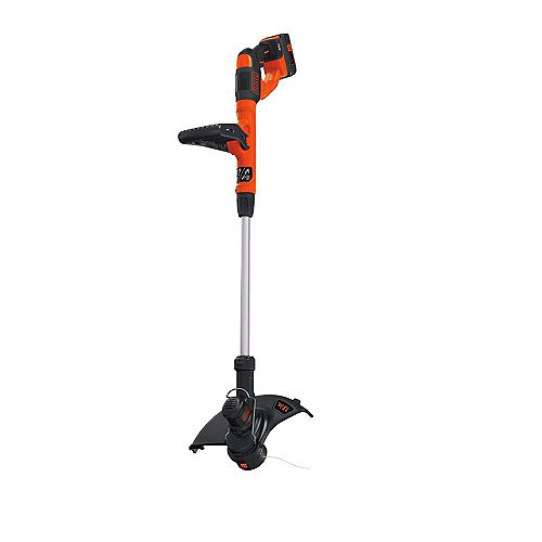 BLACK+DECKER 13-inch 40V MAX Lithium-Ion Cordless String Trimmer with Battery and Charger