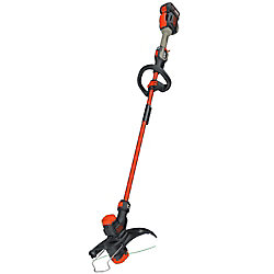 BLACK+DECKER 13-inch 60V MAX Li-Ion Cordless 2-in-1 String Grass Trimmer/Lawn Edger w/ 1.5Ah Battery and Charger Included