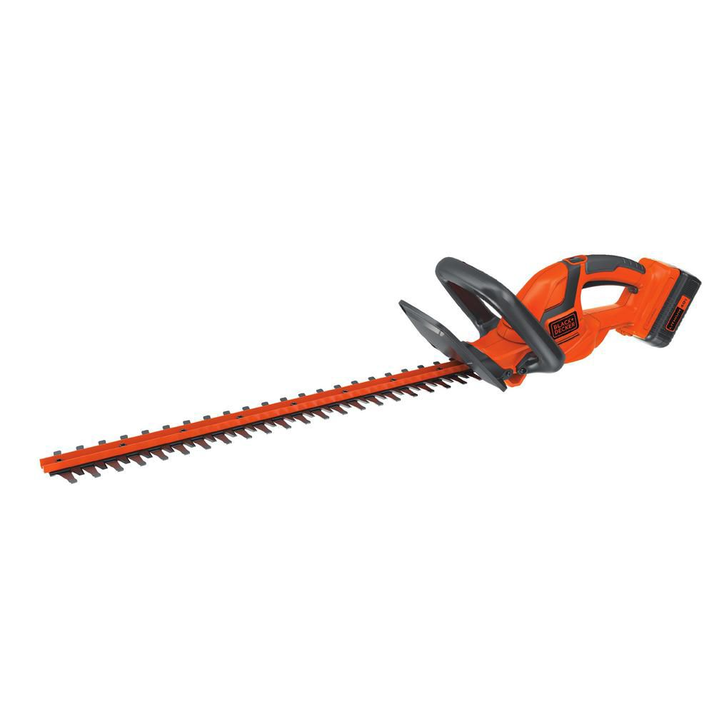 BLACK+DECKER 40V MAX Lithium-Ion Hedge Trimmer with Battery and Charger LHT2240C