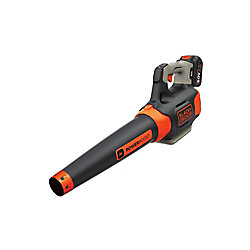 BLACK+DECKER 100 MPH 400 CFM 60V MAX Li-Ion Cordless Handheld Leaf Blower with 1.5Ah Battery and Charger Included