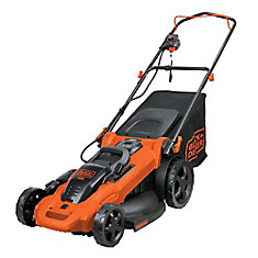 20-inch 40V Max Lithium Ion Cordless Electric Walk Behind Push Mower - Two Batteries/Charger Included