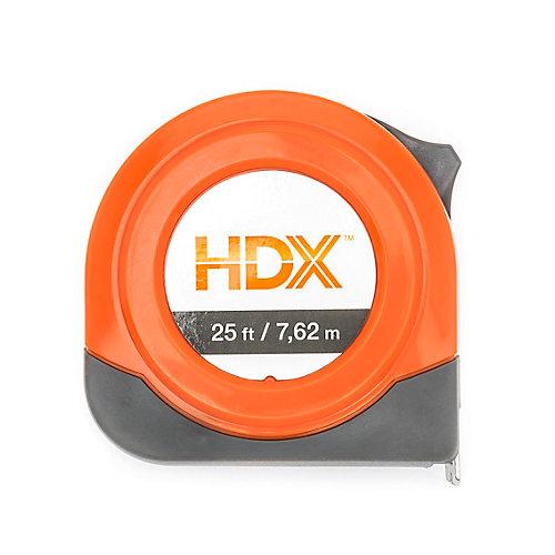 Tape, HDX 7.5m/25 ft. Sae/Mm/Fractions