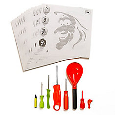 All-in-One Halloween Pumpkin Carving Kit