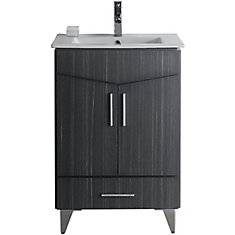 American Imaginations Support de meuble-lavabo contemporain en ...