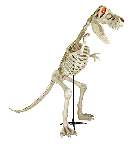 THD 8 ft. 2 inch LED T-Rex Skeleton Dinosaur | The Home Depot Canada