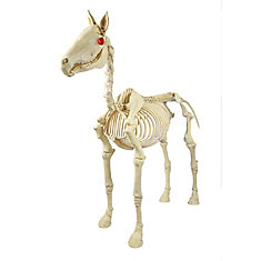 74-inch Animated Skeleton Horse