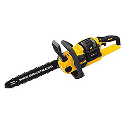 FLEXVOLT 60V MAX Li-Ion Cordless  Brushless 16-inch Chainsaw with 3.0Ah Battery and Charger Included