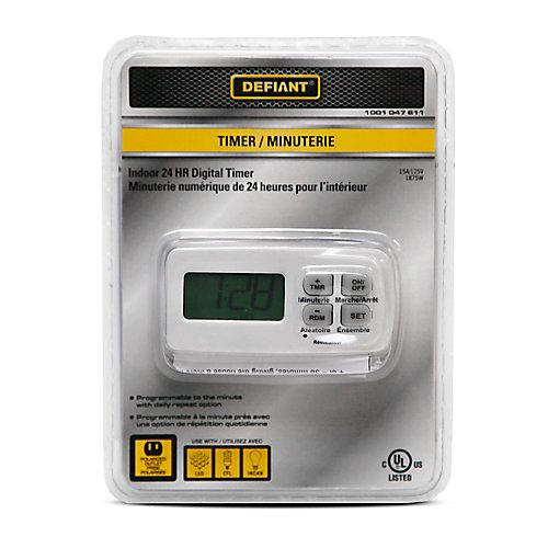 Indoor 24-Hr Digital Timer