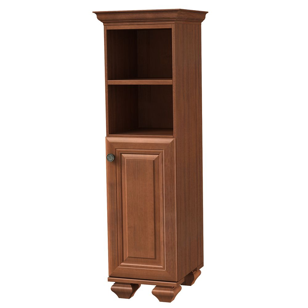 Home Decorators Collection 16 Inch W Brentstone Linen Cabinet ...