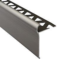 1/2 inch (12mm) Tile Nosing 6 ft Titanium