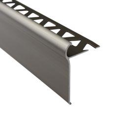 Shur Trim 1/2 inch (12mm) Tile Nosing 6 ft Titanium