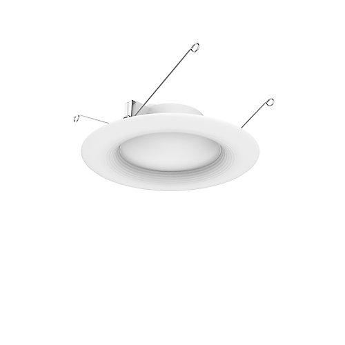 Luminaire à encastrer avec DEL intégrée 5po/6po blanc doux, équiv. 65W (pqt de 3) - ENERGY STAR