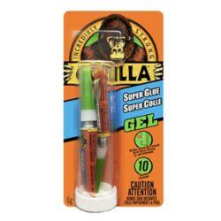 Gorilla Glue Super Glue Gel 2-3g Tubes