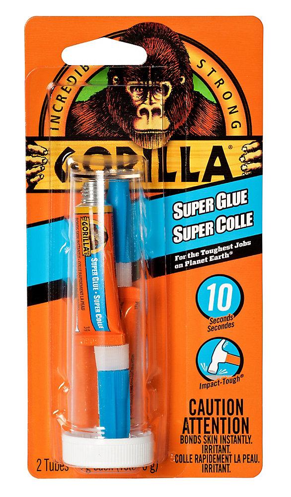 Gorilla Glue Super Glue 2-3g Tubes | The Home Depot Canada