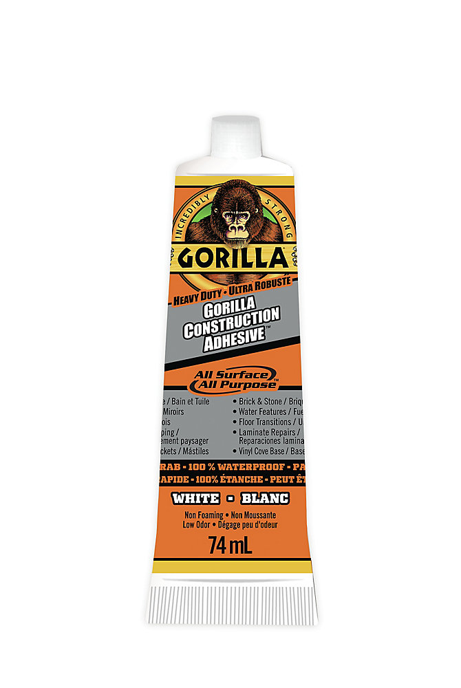 Gorilla Glue Construction Adhesive TM Tube | The Home Depot Canada
